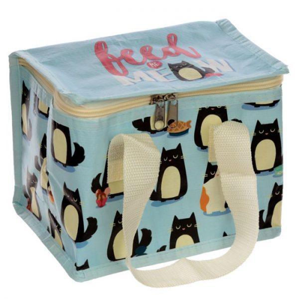 Izolačná taška na desiatu - Mačka Feline Fine 4 - pre milovníkov mačiek
