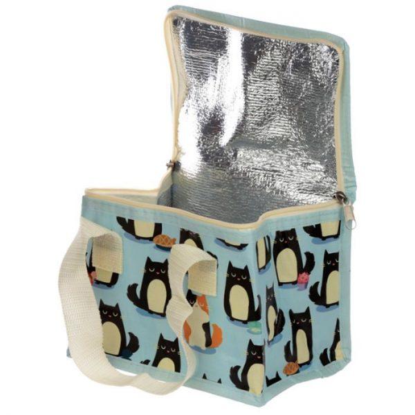 Izolačná taška na desiatu - Mačka Feline Fine 2 - pre milovníkov mačiek