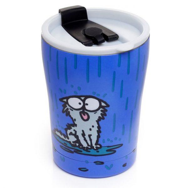 Simon's Cat opakovane použiteľná tepelne izolovaná šálka z nerezovej ocele na teplé aj studené, jedlo aj pitie 300ml 5 - pre milovníkov mačiek