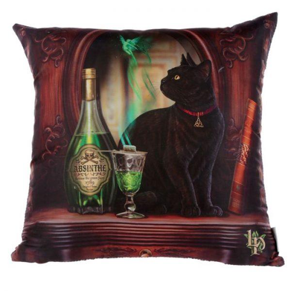 Lisa Parker Absinth a mačka Vankúš 1 - pre milovníkov mačiek