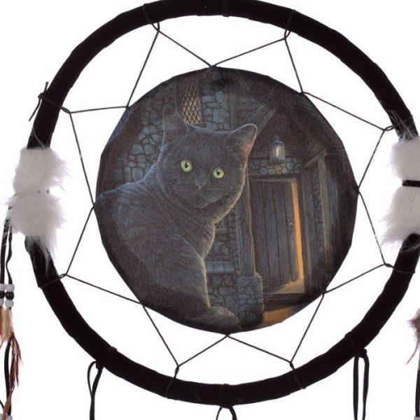Lisa Parker What Lies Within Cat Lapač snov 33cm 2 - pre milovníkov mačiek