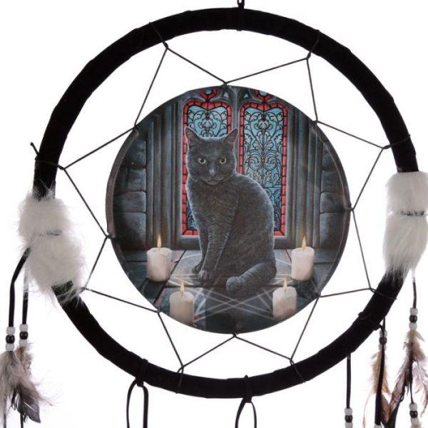 Lisa Parker Posvätný kruh s mačkou Lapač snov 33cm 2 - pre milovníkov mačiek