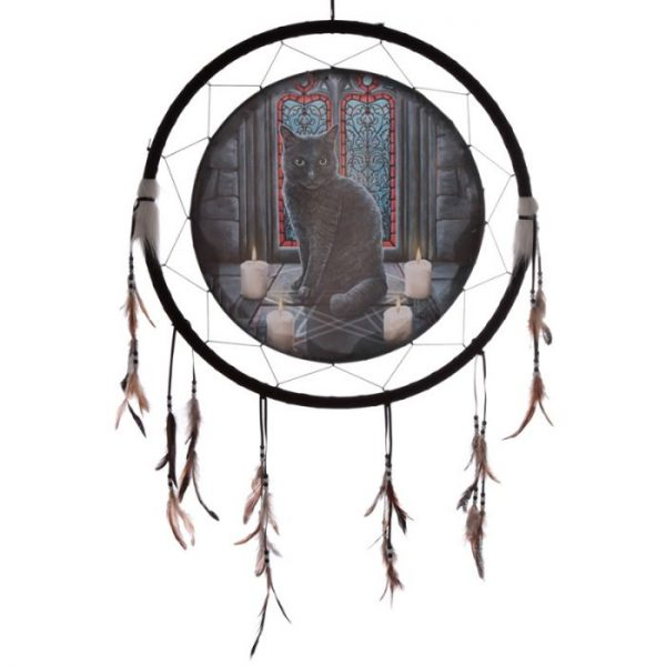 Lisa Parker Posvätný kruh s mačkou Lapač snov 60cm 1 - pre milovníkov mačiek