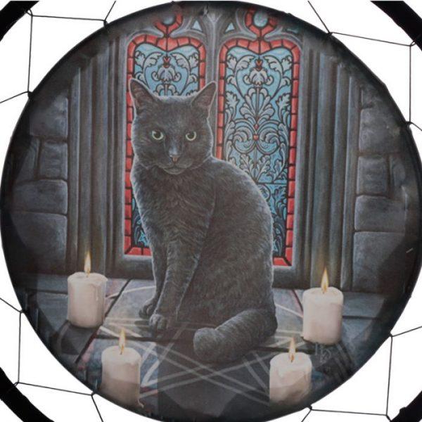 Lisa Parker Posvätný kruh s mačkou Lapač snov 60cm 3 - pre milovníkov mačiek