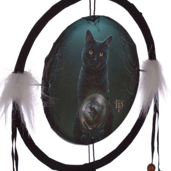 Lisa Parker Rise of the Witches Cat Lapač snov 16cm 2 - pre milovníkov mačiek