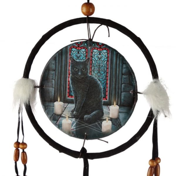 Lisa Parker Posvätný kruh s mačkou Lapač snov 16cm 3 - pre milovníkov mačiek