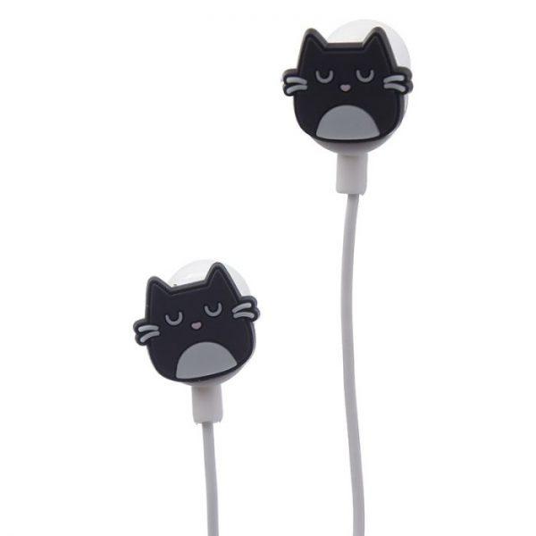 Feline Fine Slúchadlá v tvare mačky 7 - pre milovníkov mačiek