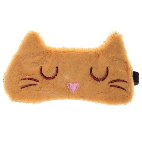 Maska na oči mačička Feline Fine čierna 4 - pre milovníkov mačiek