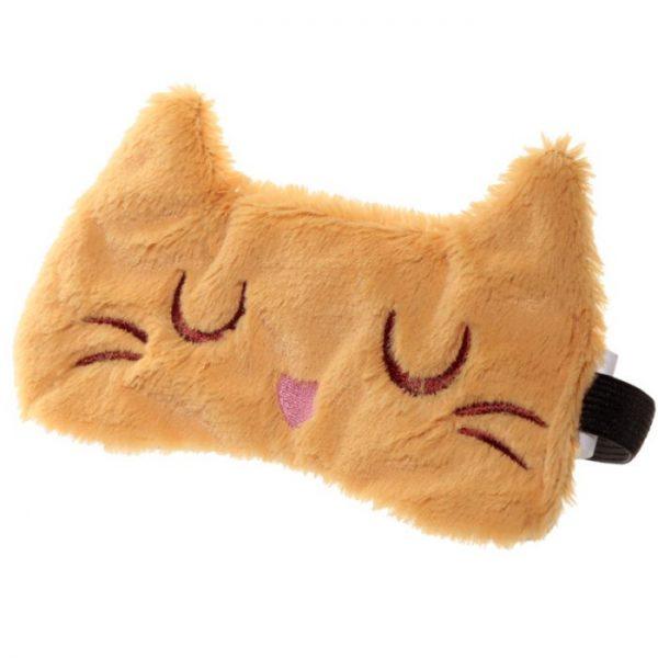Maska na oči mačička Feline Fine čierna 6 - pre milovníkov mačiek