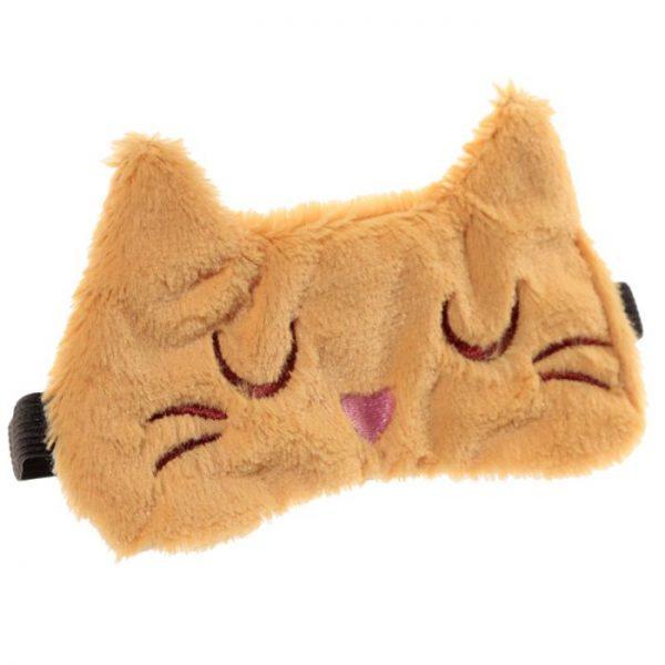 Maska na oči mačička Feline Fine čierna 5 - pre milovníkov mačiek