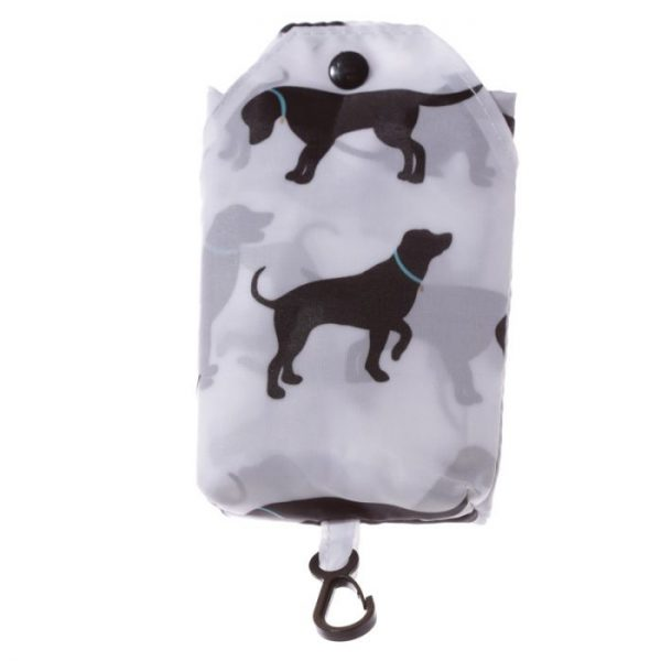 Skladacia Nákupná taška - I Love My Cat & I Love My Dog 8 - pre milovníkov mačiek