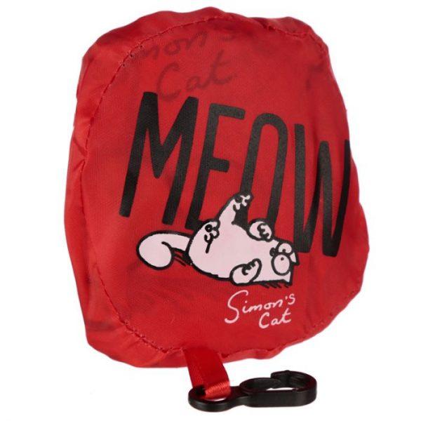 Skladacia Nákupná taška - Simon's Cat MEOW Design 7 - pre milovníkov mačiek