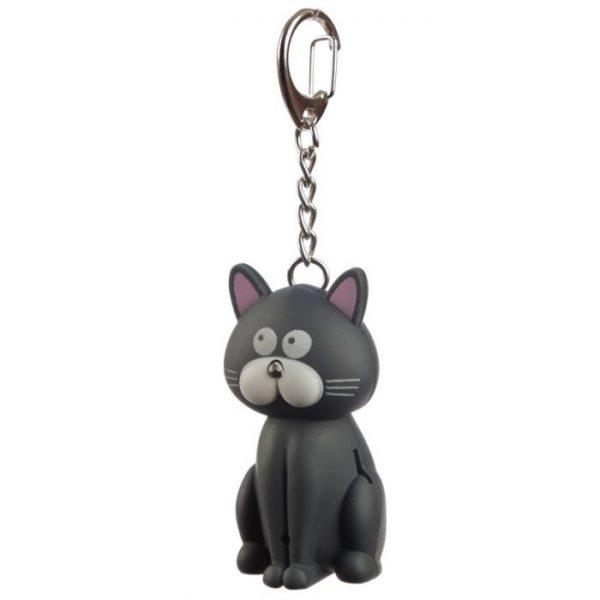 Mačacia LED mňaukajúca kľúčenka 8 - pre milovníkov mačiek
