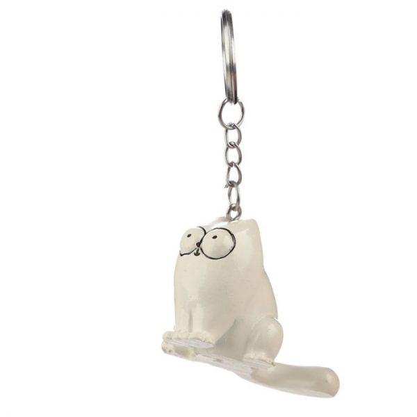 Simon's Cat Kľúčenka - sediaca Simonova mačka 2 - pre milovníkov mačiek