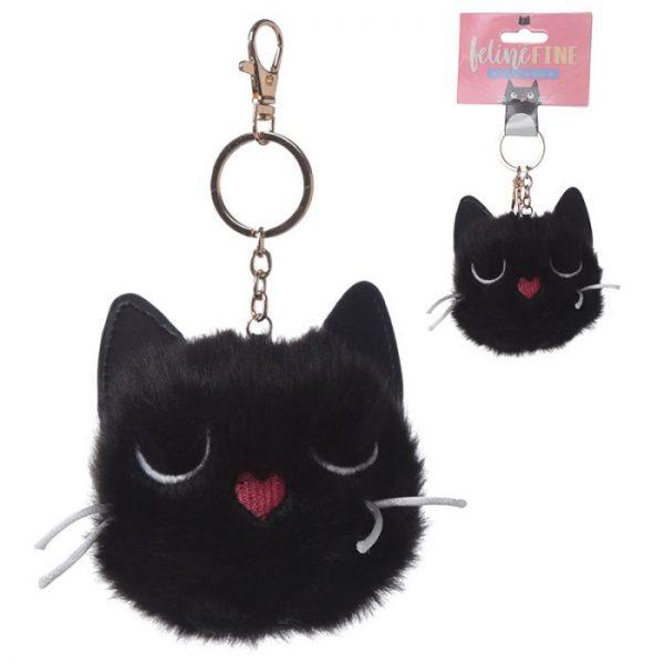 Mačka Feline Fine Pom Pom Kľúčenka 1 - pre milovníkov mačiek