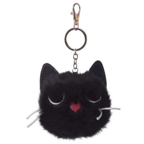 Mačka Feline Fine Pom Pom Kľúčenka 2 - pre milovníkov mačiek