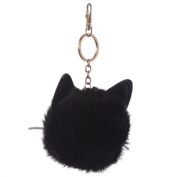 Mačka Feline Fine Pom Pom Kľúčenka 3 - pre milovníkov mačiek