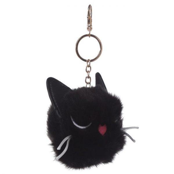 Mačka Feline Fine Pom Pom Kľúčenka 4 - pre milovníkov mačiek