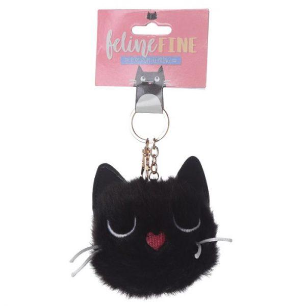Mačka Feline Fine Pom Pom Kľúčenka 5 - pre milovníkov mačiek