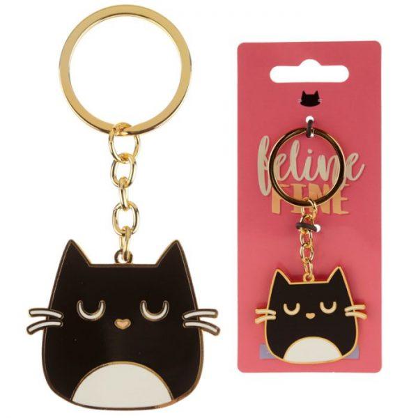Mačka Feline Fine Design Kľúčenka 1 - pre milovníkov mačiek