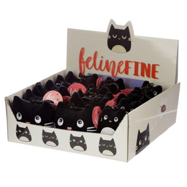 Kľúčenka Mačka Feline Fine Squishy Plush 4 - pre milovníkov mačiek