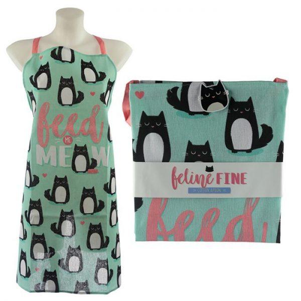 Zástera polobavlnená - Cat Feline Fine Meow 1 - pre milovníkov mačiek