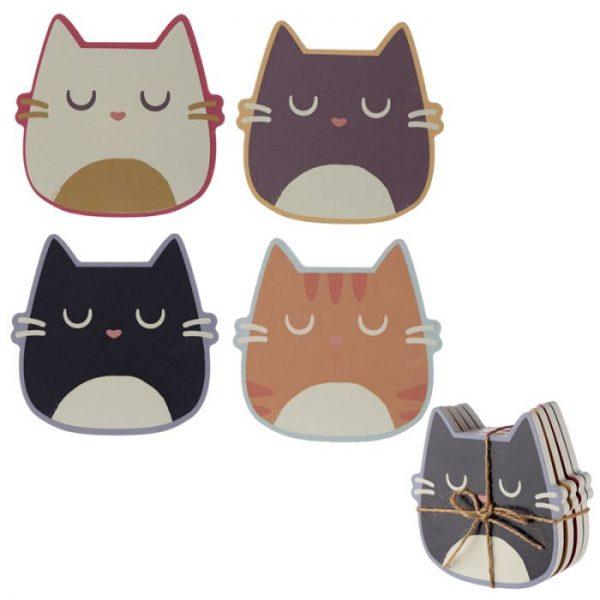 Mačka Feline Fine Set 4 tácok 1 - pre milovníkov mačiek