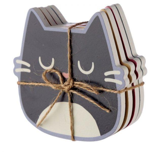 Mačka Feline Fine Set 4 tácok 2 - pre milovníkov mačiek