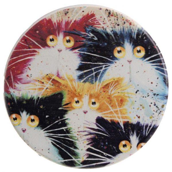 Kim Haskins Mačky Set 4 tácok 2 - pre milovníkov mačiek