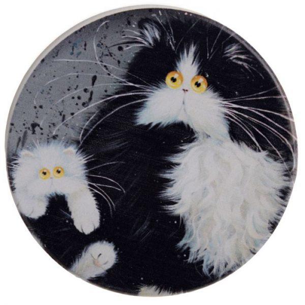 Kim Haskins Mačky Set 4 tácok 6 - pre milovníkov mačiek