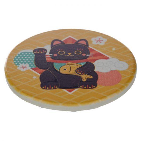 Set 4 tácok Maneki Neko - mačka šťastie 2 - pre milovníkov mačiek