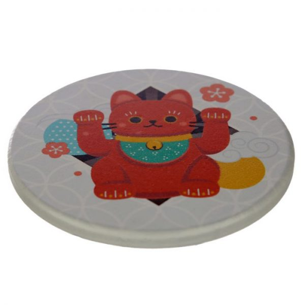Set 4 tácok Maneki Neko - mačka šťastie 6 - pre milovníkov mačiek
