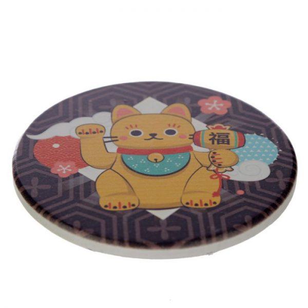 Set 4 tácok Maneki Neko - mačka šťastie 3 - pre milovníkov mačiek