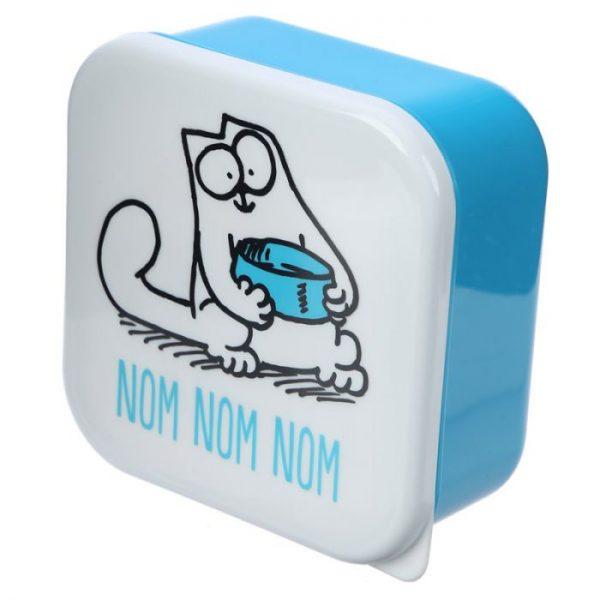 Set 3 krabičiek na desiatu S/M/L - Simon's Cat 3 - pre milovníkov mačiek