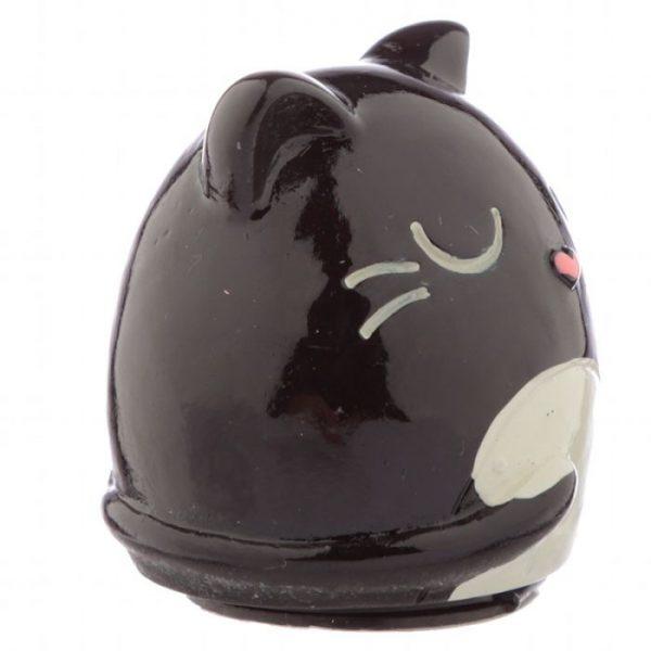 Balzam na pery v držiaku v tvare Feline Fine Cat - čierny 2 - pre milovníkov mačiek