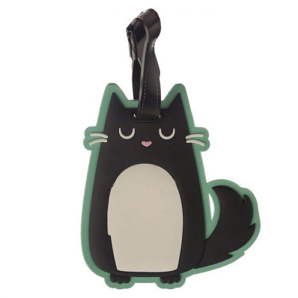 Mačka Feline Fine PVC Štítok na batožinu 2 - pre milovníkov mačiek
