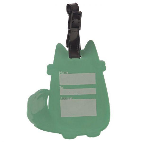 Mačka Feline Fine PVC Štítok na batožinu 4 - pre milovníkov mačiek