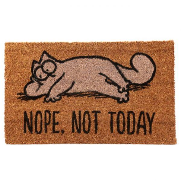 Nope, Not Today Simon's Cat Rohožka z kokosových vlákien 1 - pre milovníkov mačiek