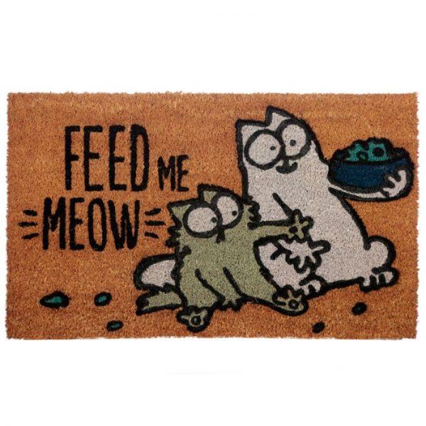 Feed Me Meow Simon's Cat Rohožka z kokosových vlákien 1 - pre milovníkov mačiek