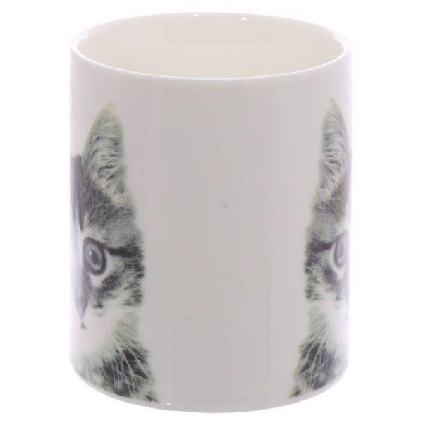 MEOW Cute Kitten Porcelánový hrnček 4 - pre milovníkov mačiek