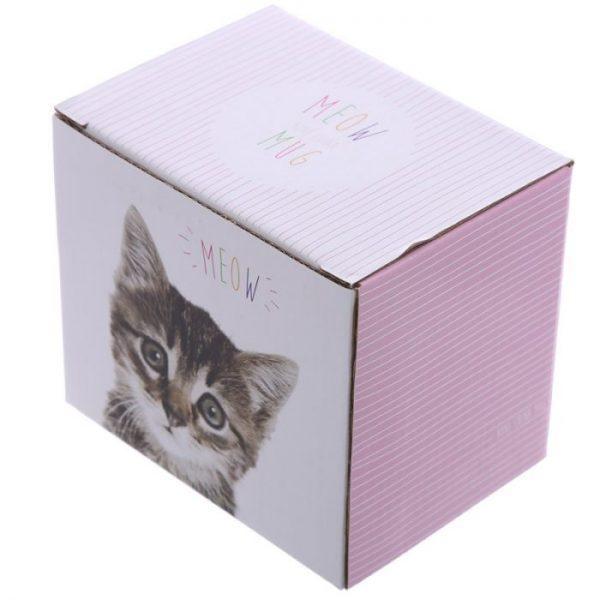 MEOW Cute Kitten Porcelánový hrnček 5 - pre milovníkov mačiek