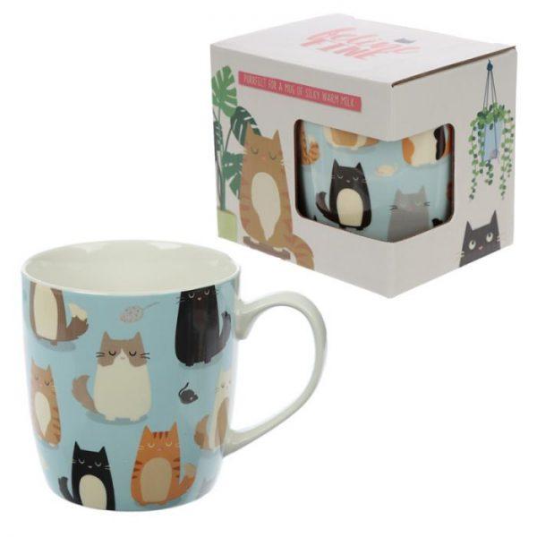 Mačka Feline Fine Porcelánový hrnček 1 - pre milovníkov mačiek
