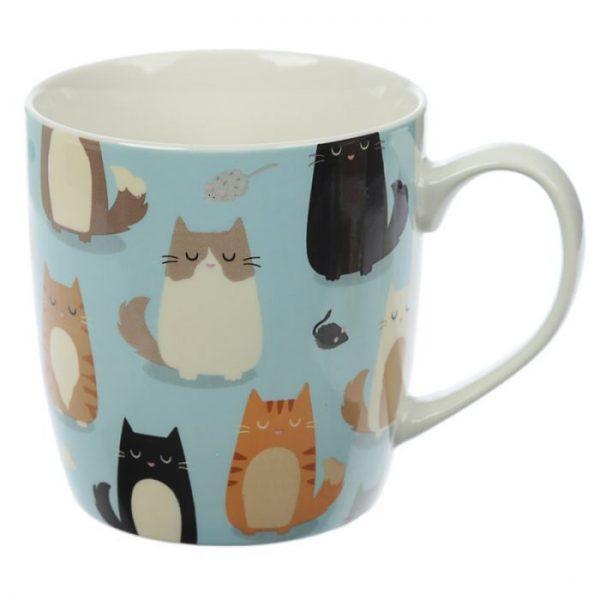Mačka Feline Fine Porcelánový hrnček 5 - pre milovníkov mačiek