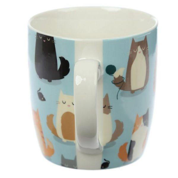 Mačka Feline Fine Porcelánový hrnček 3 - pre milovníkov mačiek