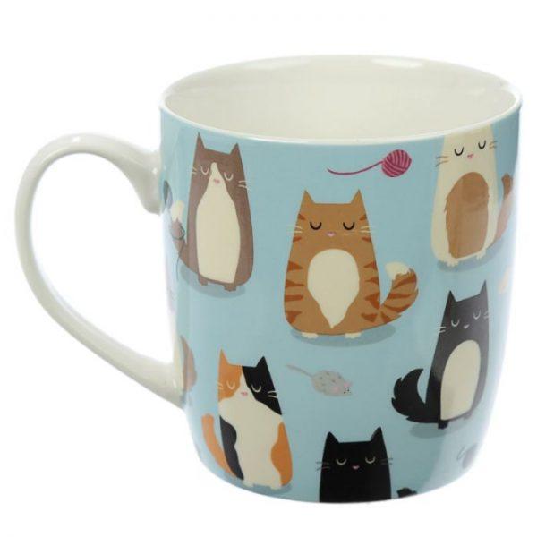 Mačka Feline Fine Porcelánový hrnček 2 - pre milovníkov mačiek