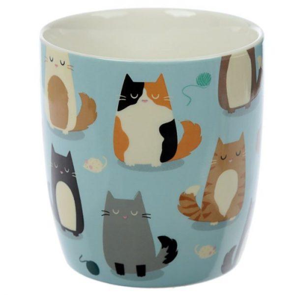 Mačka Feline Fine Porcelánový hrnček 6 - pre milovníkov mačiek