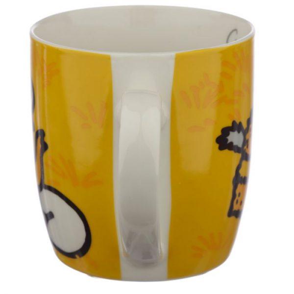 Oranžový Simon's Cat Porcelánový hrnček 2 - pre milovníkov mačiek