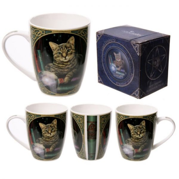 Lisa Parker Mačka médium Porcelánový hrnček 1 - pre milovníkov mačiek