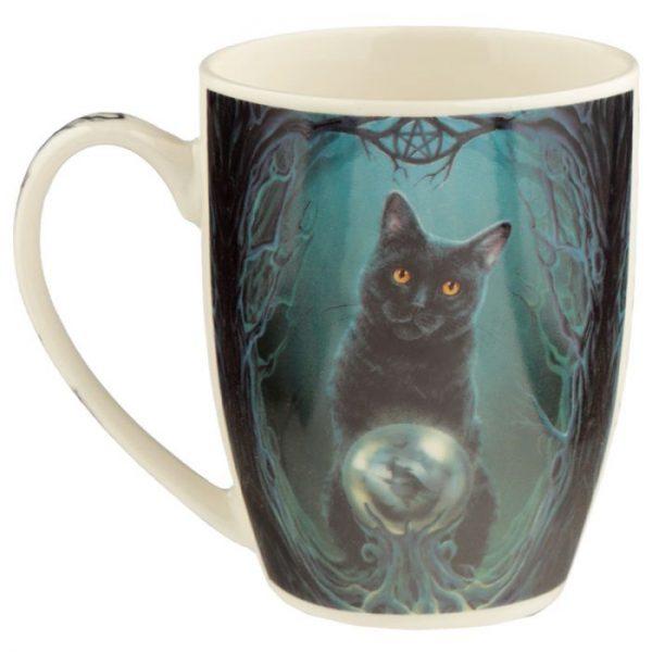Lisa Parker Rise of the Witches Cat Porcelánový hrnček 6 - pre milovníkov mačiek
