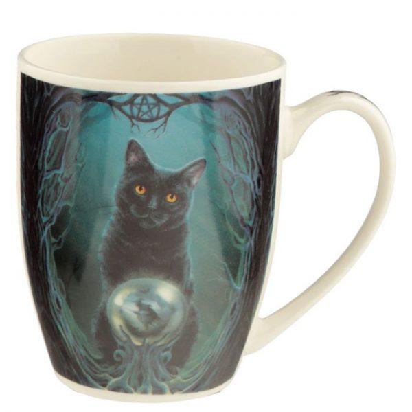 Lisa Parker Rise of the Witches Cat Porcelánový hrnček 2 - pre milovníkov mačiek